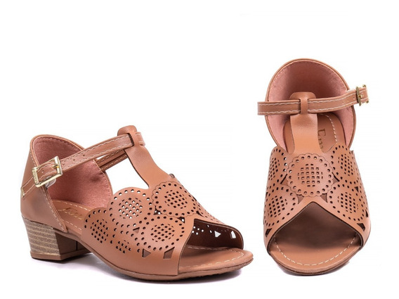 Sapato Infantil Menina Sandália 2034