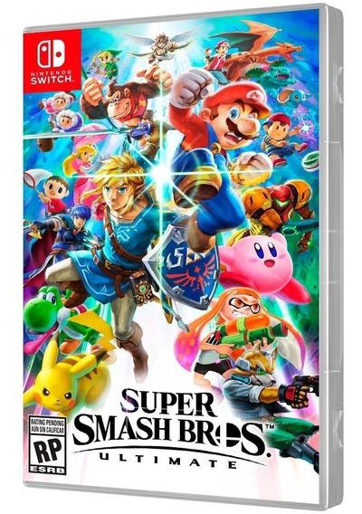 Jogo Switch Super Smash Bros Ultimate - Novo - Lacrado