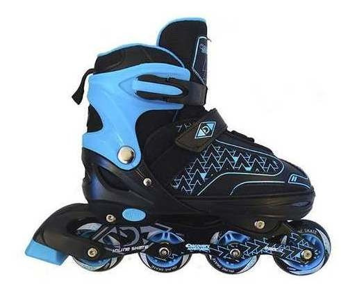 Patines Patin Ajustable Discovery Blue Light Talla M