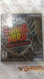 Guitar Hero Warriors Of Rock Ps3 En Gordito Coleccionables