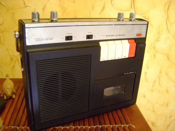 Rádio Antigo Crown Ver Detalhe
