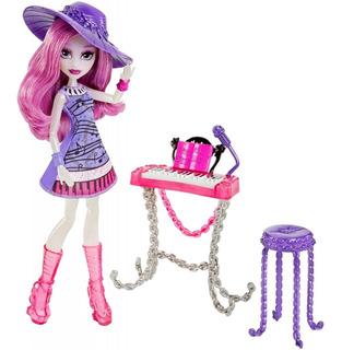 Muñeca Ari Hauntington De Monster High Y Accesorios