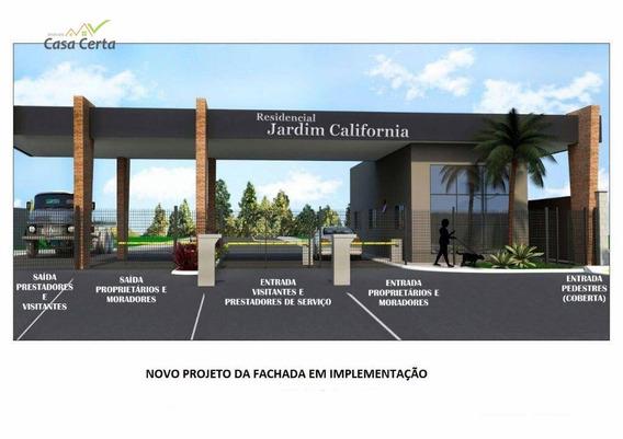Terreno À Venda, 319 M² Por R$ 100.000 - Condomínio Residencial Jardim Califórnia - Estiva Gerbi/sp - Te0206