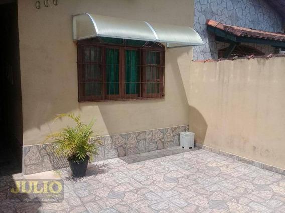 Entrada R$ 28.000,00 + Saldo Super Facilitado, Use Seu Ftgs Casa Residencial À Venda, Itaóca, Mongaguá. - Ca3152