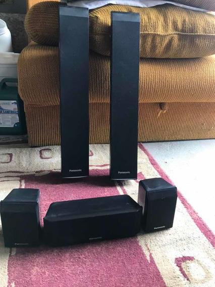5 Caixas Acústicas Home Theater Panasonic Sb-hf560