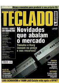 Revista Teclado E Áudio Sem Disquete Nº 86,95 ,117,