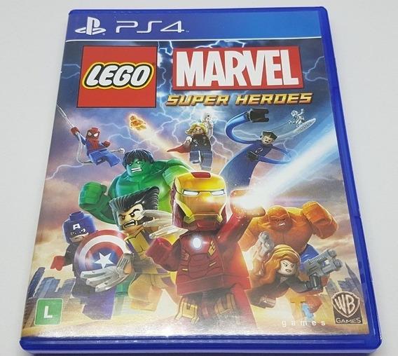 Lego Marvel Super Heroes Ps4 Mídia Fisica