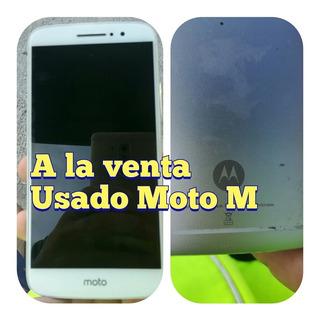 Celular Motorola Moto M En Excelente Estado