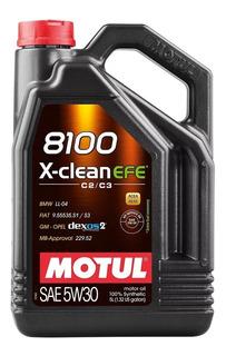 Aceite Motul 8100 X-clean Efe 5w30 X 5 L Dexos 2 Gm Fiat Bmw