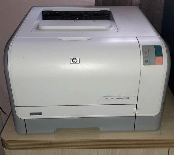 Impressora Hp Color Laserjet Cp1215