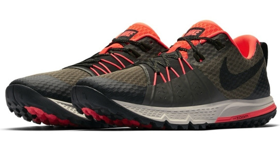 Tenis Senderismo Nike Wildhorse 4 Trail Running Outdoor Hombre