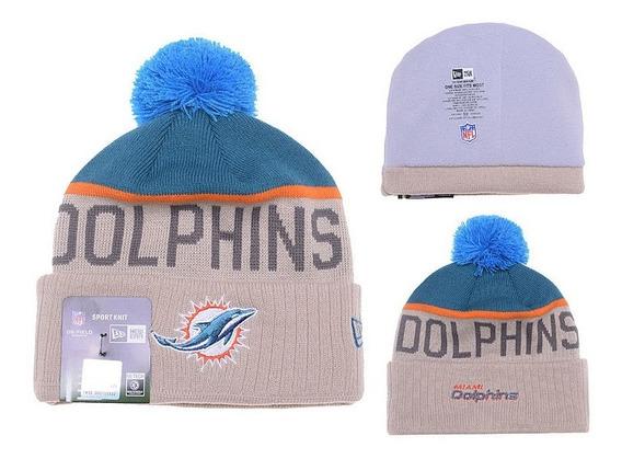 Touca Gorro Beanie Miami Dolphins Nfl - Tom Brady New Era Original - Importado