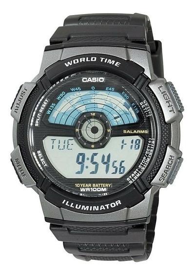 Relógio Casio Digital Masculino Ae1100w Original C/ Caixa Nf