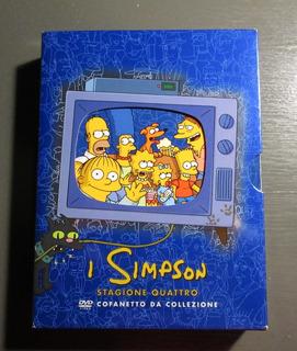 Los Simpsons Temporada 4 Italiana Region 2 Set 4 Dvd Librito