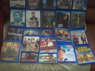 22 Cds Peliculas Blu-ray ¨varios Titulos ¨