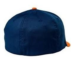 Gorra Fox Clouded Flexfit Hat Navy Talle M