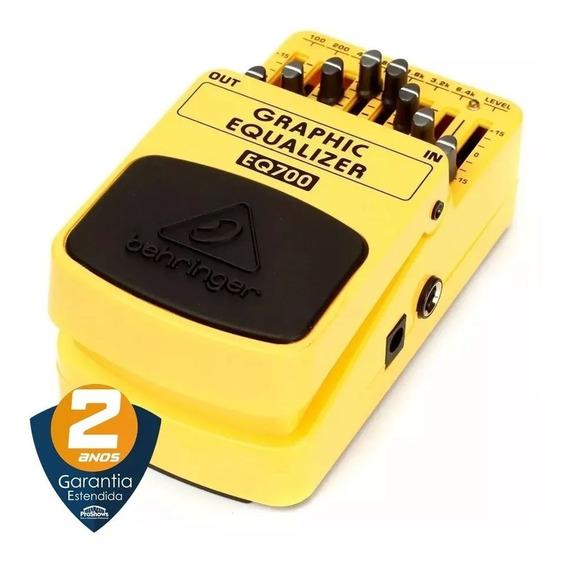 Pedal Para Guitarra Behringer Eq700 Mono Graphic Equalizer