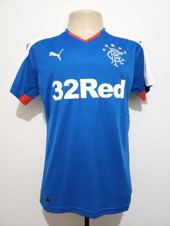Camisa Oficial Futebol Rangers Escócia 2015 Home Puma P