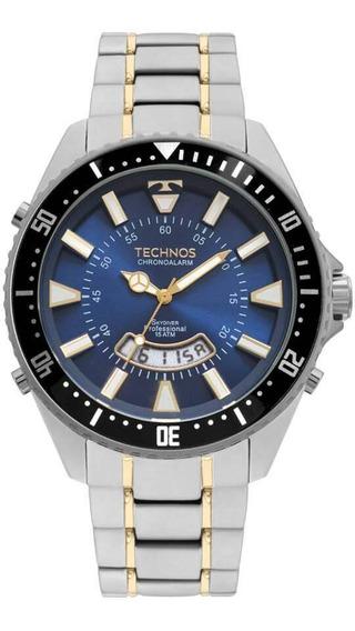 Relógio Technos Masculino Skydiver T205jh/1a
