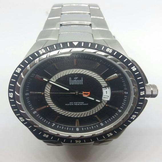 Relógio Dumont Masculino Casual Prateado Sc80058c