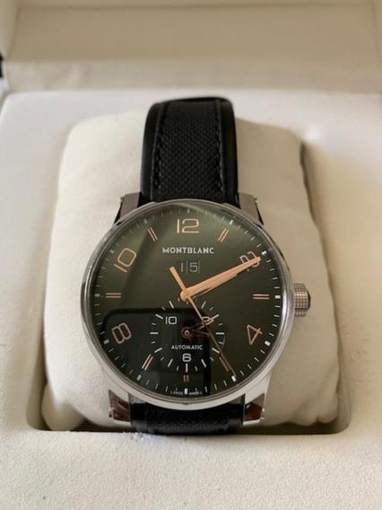 Relógio Montblanc Time Walker Ponteiros De Ouro.