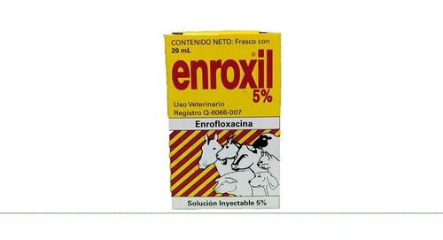 Enroxil 5% Solucion Inyectable 20ml Senosiain