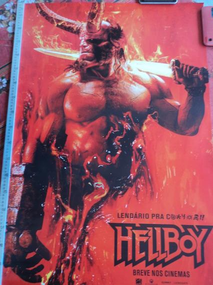 Poster:cartaz:hellboy:2019:original:cinema:94cm X 64cm