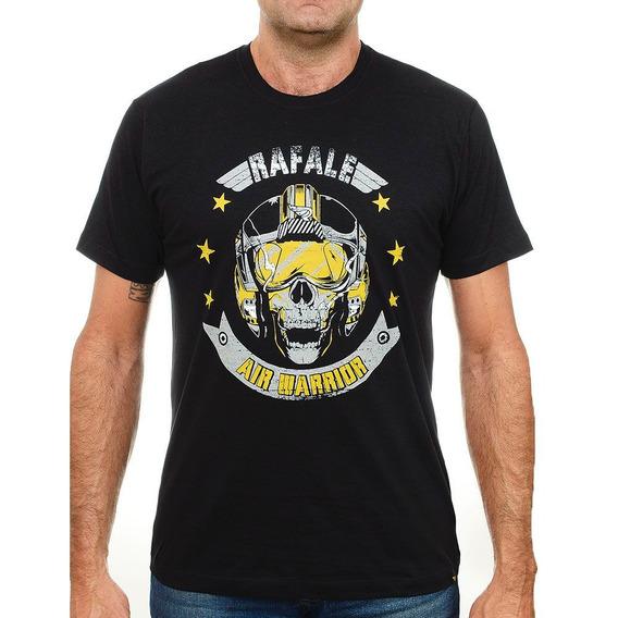 Camiseta Militar Motociclista Caveira Warrior 118p