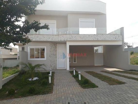 Casa Nova Nunca Habitada No Condomínio Vivva, 194m² 3 Suítes. Aceita Financiamento E Fgts - Ca0550