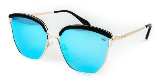 Óculos De Sol Carmim - Crm42280 C5 - Dourado