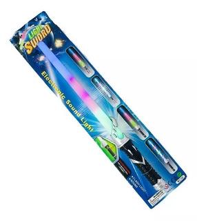 Star Wars Espada Con Luz Y Sonido Laser - La Horqueta