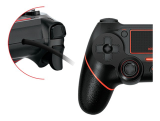Joystick Cobra X Ps4 Ps3 Pc 3mts Vibración Level Up Gamepad