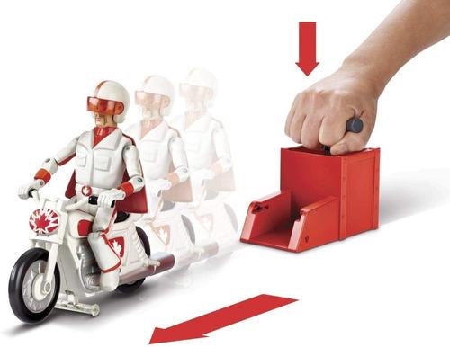 Imagen 1 de 5 de Figura Piloto De Acrobacias Duke Caboom Toy Story + Moto