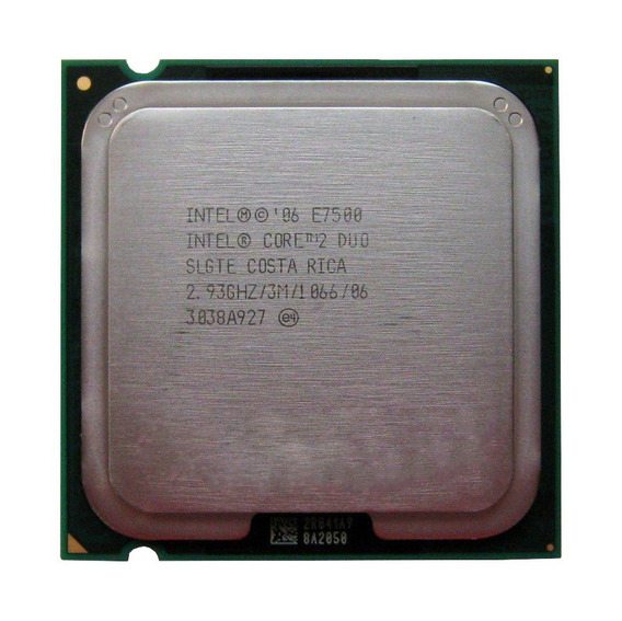Processador Desktop Intel Socket 775 Core 2 Duo E7500 2.93gh