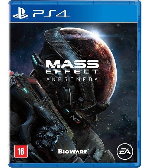 Jogo Mass Effect Andromeda Ps4 Disco Fisico Novo Português