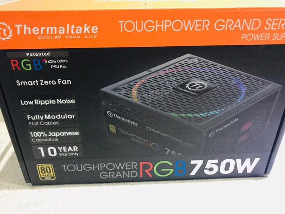 Fonte 750w Tt Toughpower Grand Fully Mod 80+gold Rgb