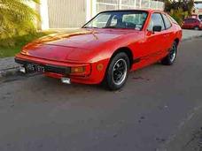 Porsche 924 Placa Preta / Troco Por Antigos R$ 85 000