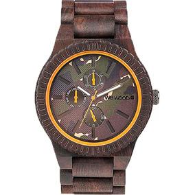 Relógio De Madeira Wewood - Wwko03