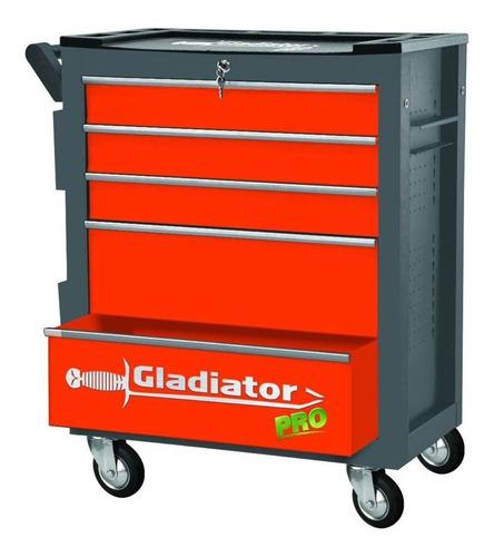 Caja De Herramientas Gabinete Metálico Gladiator Gh8001 G P