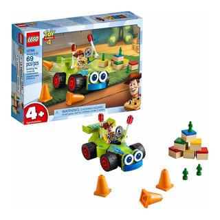 Lego Toy Story 4 Woody Y Rc Original Mod. 10766