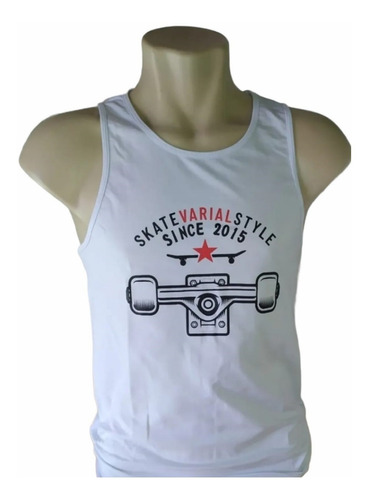 Imagem 1 de 1 de Camiseta Regata Unissex  Varial Truck
