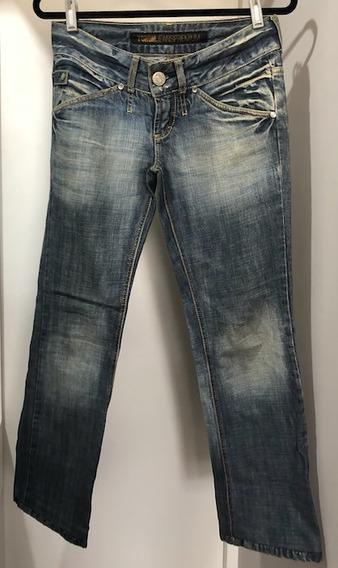 Calça Jeans Reta Forum