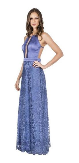Vestido Lilas Renda