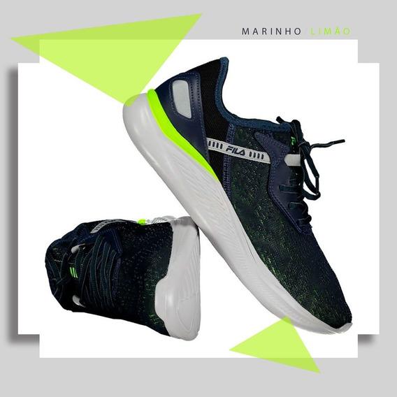 Tênis Fila Footwear Fabolous Marinho/limão