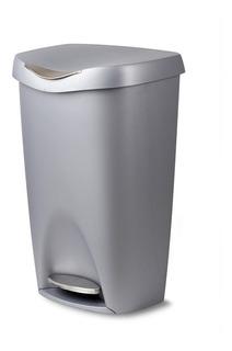 Lixeira Em Plástico Umbra Brim Can 50l Cinza