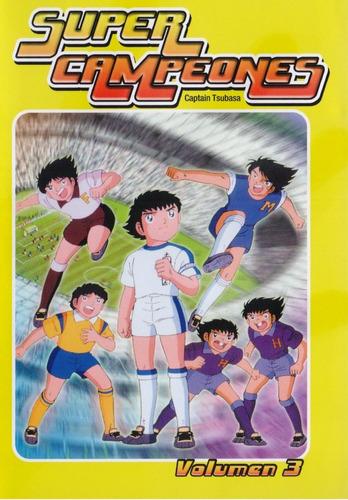 Los Super Campeones Captain Tsubasa Volumen 3 Tres Dvd