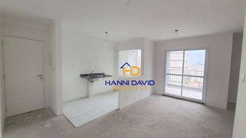Apartamento Novo À Venda Na Bela Vista - 2 Dormitórios, 1 Vaga, Sacada. - Ap3541