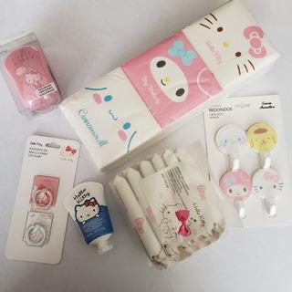 Sanrio Hello Kitty 20 Piezas Toallitas Limpiadoras Pañuelos