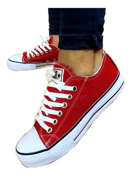Zapatillas Mujer Zapas Un Star Bajas Varios Colores A.130