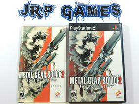 Metal Gear Solid 2 Original Americano Ps2